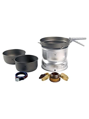 Trangia 25 Serie, Aluminium Camping Küchenset, Alkoholherd inklusive