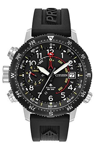 Citizen Herren Analog Solar Uhr mit PU Armband BN4044-15E