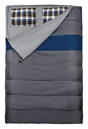 Explorer Schlafsack 220 x 150/75 cm DUO Deckenschlafsack Doppelschlafsack (auch als 2Einzelschlafsäcke...