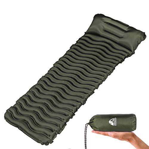 Unigear Camping Isomatte, Aufblasbare Luftmatratze Camping, Schlafmatte für Outdoor,...