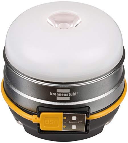 Brennenstuhl Akku LED Outdoor Leuchte OLI 0300 A (Campingleuchte für außen 350lm / Campinglampe mit bis zu...