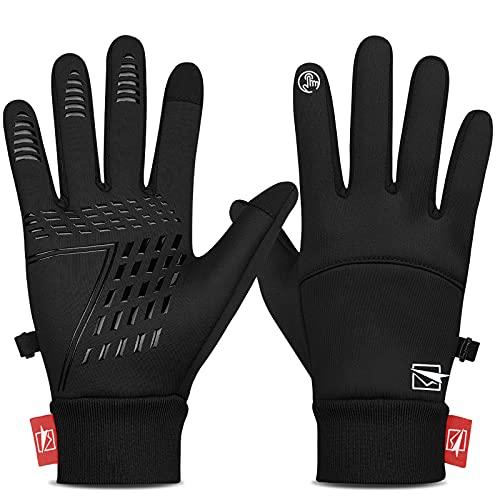 Yobenki Handschuhe Fahrradhandschuhe Warm Winterhandschuhe wasserdichte Touchscreen...