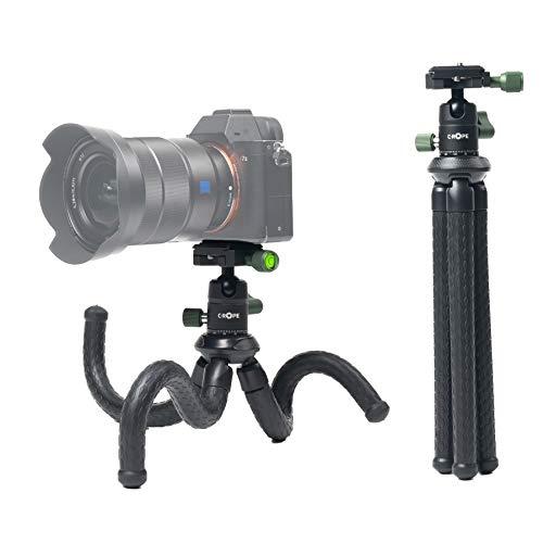 C-Rope Creatorpod, Flexibles Reisestativ mit Kugelkopf, Kamera Stativ für DSLR- und...
