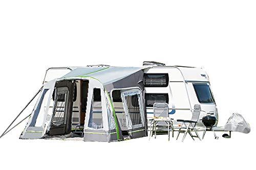 dwt Vorzelt Wohnwagen aufblasbar Junior Air 320x290 cm Camping Air-In Doppelhubpumpe...