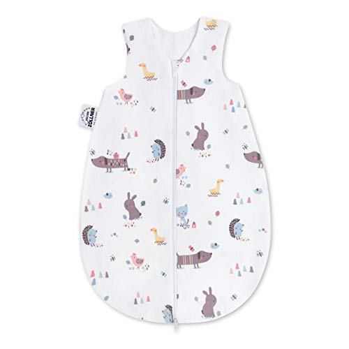 Julius Zöllner Baby Sommerschlafsack aus 100% Jersey Baumwolle, Größe 56, Standard 100...