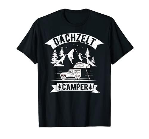 Dachzelt Camping Outdoor Herren Natur Dachzelten Geschenk T-Shirt