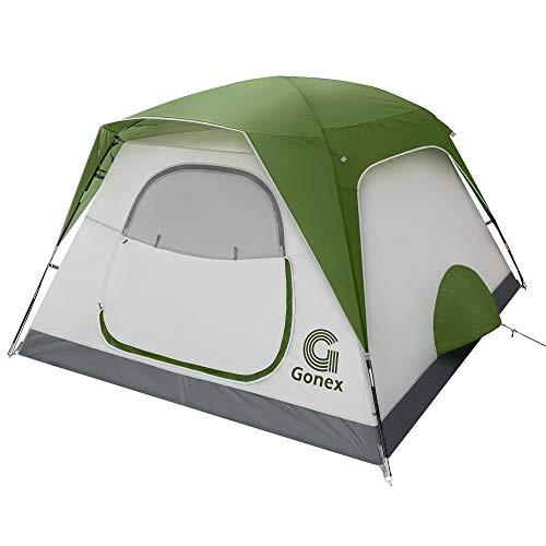 Gonex Camping Zelt, 6 Personen Leicht Wasserdicht Sofortiges Aufstellen Familie...