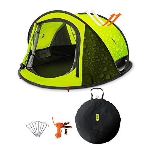 Zenph Pop Up Zelt, Automatisches Outdoor-Zelt für 2-3 Personen Schnellöffnungs Wurfzelt...