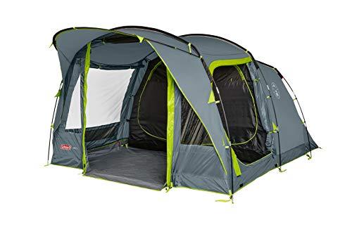 Coleman Zelt Vail 4/6, Camping-Zelt 4/6 Personen, großes Familienzelt mit 2/3 extra...