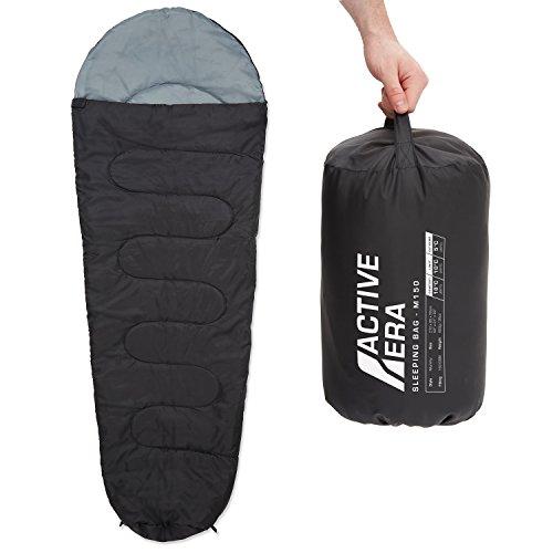 Active Era™ 150 Premium Mumienschlafsack, leicht - Schlafsack für Outdoor Camping im...
