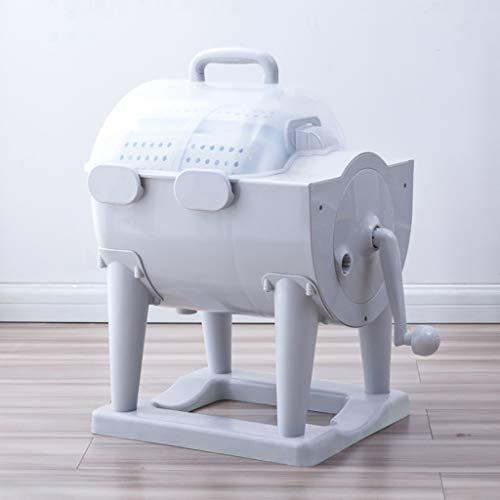 Tragbare Mini-Waschmaschine, Handwaschmaschine Mit Abtropfkorb Für Manuelle Dehydration, Geeignet Für Reisen...