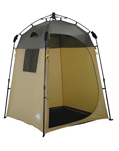 Lumaland Outdoor Pop Up Duschzelt Umkleidezelt Toilettenzelt Stehzelt Camping 155x155x220...
