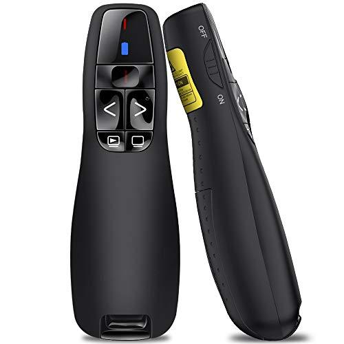 BEBONCOOL Presenter Schnurlos Professional, 2.4GHz Wireless Presenter Powerpoint...