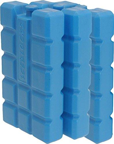 iapyx Kühlakkus - Kühlelemente 3er Set Kühlakku iceblocks Freeze Packs für Kühltaschen Kühlboxen 12h...