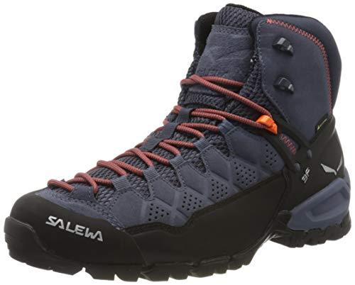 Salewa Herren MS Alp Trainer Mid Gore-TEX Trekking-& Wanderstiefel, Ombre Blue/Fluo...