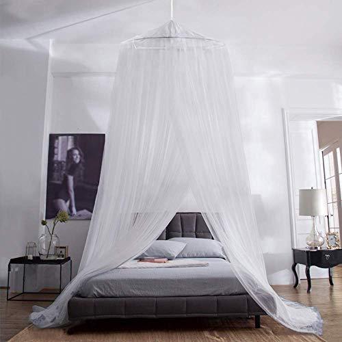 Aerb Moskitonetz Bett, Groß Mückennetz inkl. Montagematerial, Betthimmel, Mückenschutz,...
