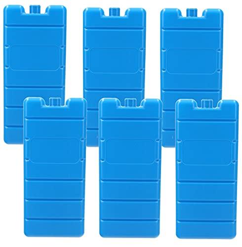 VonBueren 6X Kühlakku | 12h | 200 g Kühlakkus | 7,5 x 16,5 x 2 cm | für Kühltasche