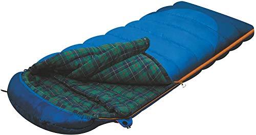 ALEXIKA Camping & Outdoor Schlafsack Tundra Plus, rechte Reißverschluss...