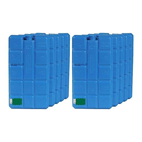 10 grosse Kühlakkus je ca. 400 ml/Kühlelemente für Kühltasche Kühlbox