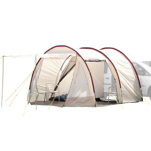 Skandika Camper Tramp Busvorzelt   Freistehend mit Schlafkabine für 2 Personen, Stehhöhe...
