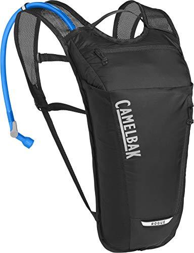 CAMELBAK Unisex– Erwachsene Rogue Light Trinkrucksack, Black/Silver, One Size
