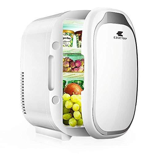 8L 2 in 1 Minikühlschrank Tragbare 220V/12V für Hautpflege und Kosmetik Lebensmittel...