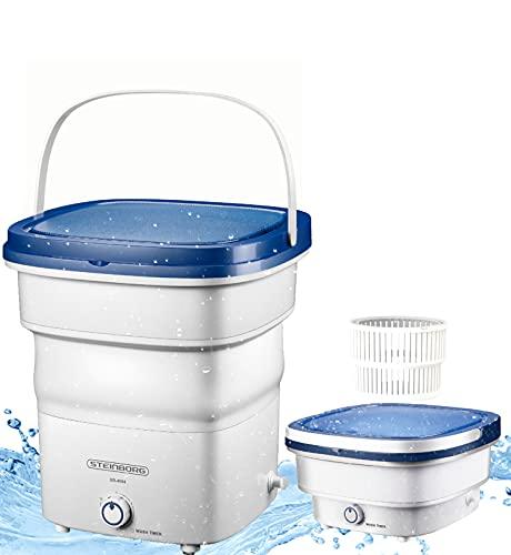 Faltbare Mini Waschmaschine | Waschautomat bis 1,5 KG | Reisewaschmaschine |...