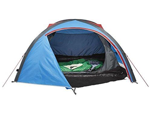 Crivit 2 Personen Zelt Campingzelt Strand Trekkingzelt Aufblasbar mit Doppelhubpumpe