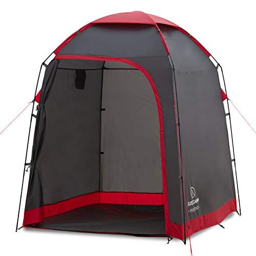 Justcamp Freeport Duschzelt (2 m Höhe), Camping Duschkabine, Umkleidekabine