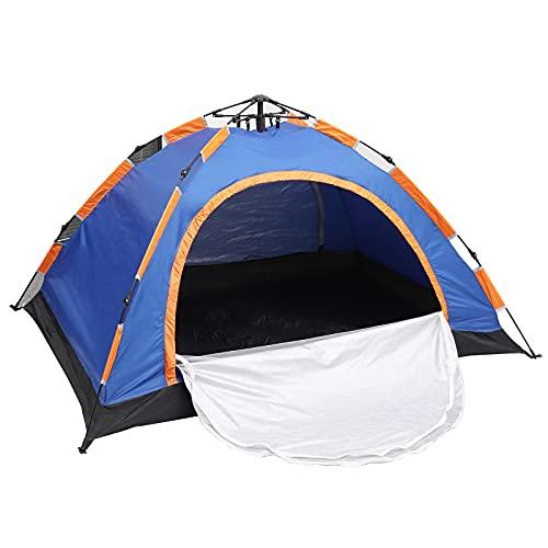 Wurfzelt 2 Personen Wasserdicht Camping Zelt mit 2 Türen Einfache Einrichtung und...