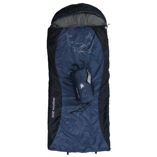 10T Kinderschlafsack DOLPHIN 180x75 cm XL Deckenschlafsack 300g/m² Delphin Schlafsack...