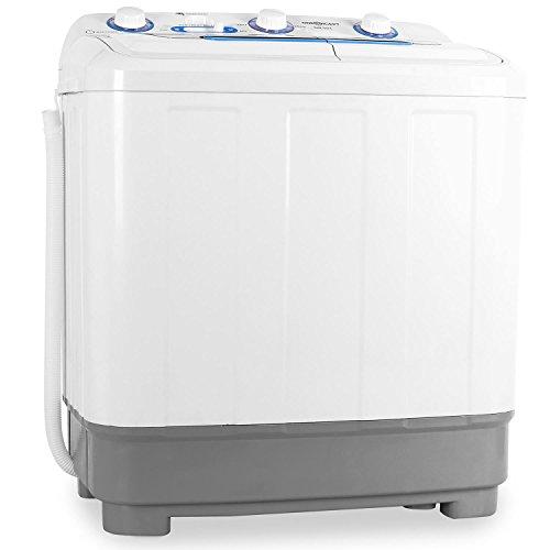 oneConcept DB004 - Mini-Waschmaschine, Camping-Waschmaschine, Waschmaschine für Singles,...