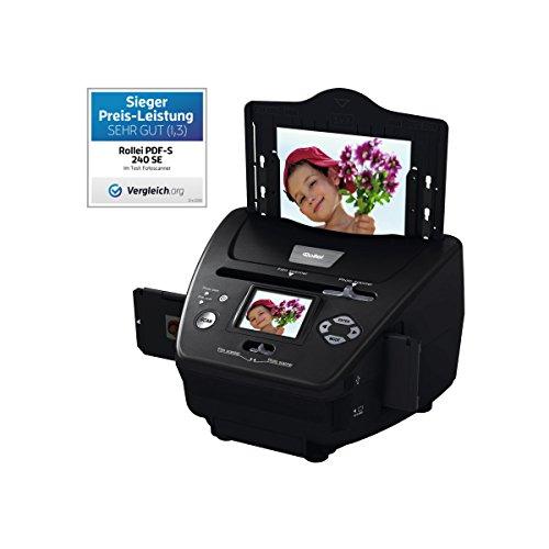 Rollei PDF-S 240 SE - Multiscanner für Fotos, Dias und Negative, sekundenschneller...