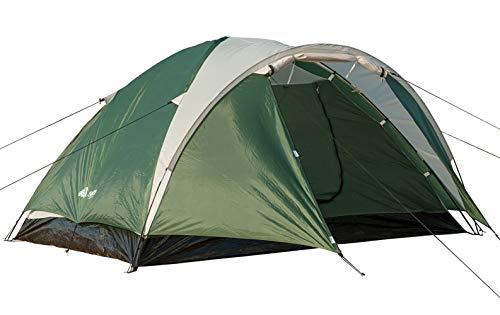 Semoo - leichtes Zelt mit Tragetasche für 4 Personen - Kuppelzelt - doppelwandig -...