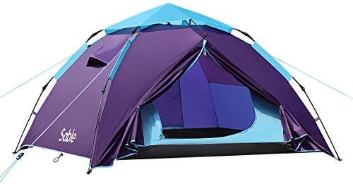Sable Unisex-Youth SA-HF033 SA-HF044, Blau Lila, L