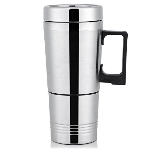 Wasserkocher Auto Reisewasserkocher 12 V/24 V 300ml Heated Smart Mug Electric Kettle...