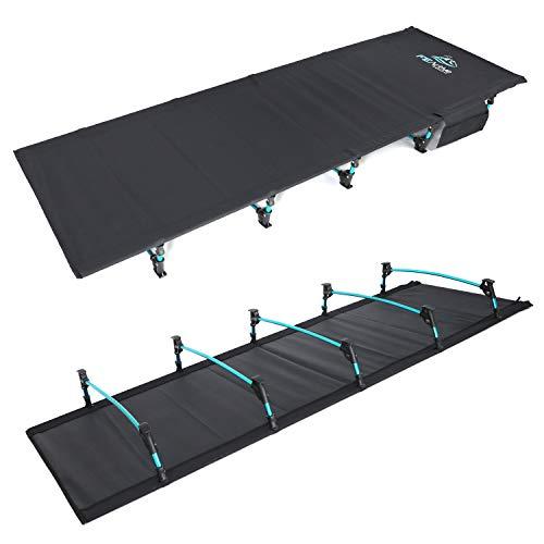 FE Active - Kompaktes klappbett aus vollaluminium, ultraleichtes, bequem zum schlafen,...