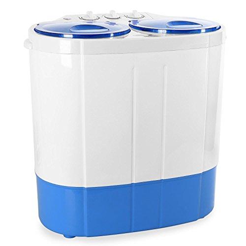 oneConcept DB003 - Waschmaschine, Mini-Waschmaschine, Camping-Waschmaschine, Wäscheschleuder, für Singles,...