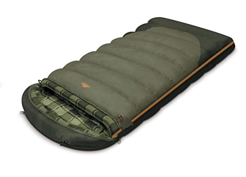 ALEXIKA Camping & Outdoor Schlafsack Canada, linke Reißverschluss Deckenschlafsacke,...