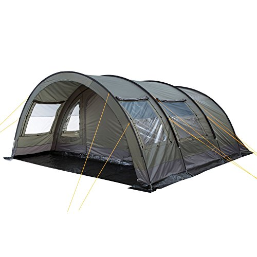 CampFeuer Tunnelzelt für 6 Personen Relax6 | Variables Tunnelzelt mit abtrennbarer...