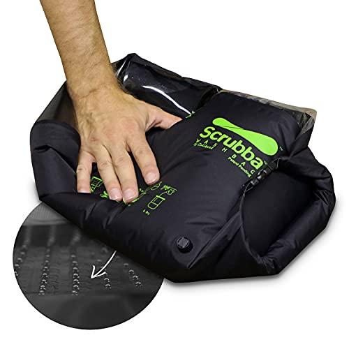 Scrubba Unisex Wash Bag 2.0 Outdoor Camping Waschmaschine | Waschtasche & Waschbeutel,...