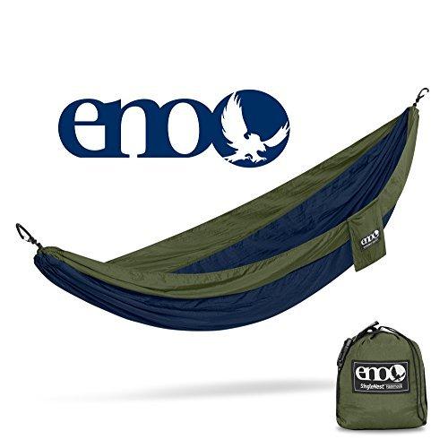 ENO Single Nest Hammock Navy Olive