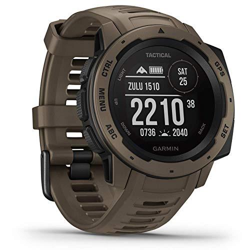 Garmin Instinct Tactical - robuste GPS-Smartwatch mit taktischen Funktionen....