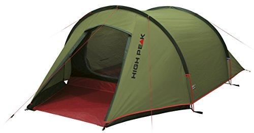 High Peak Leichtgewicht Zelt Kite 2, Campingzelt mit Vorbau, Trekkingzelt für 2 Personen,...
