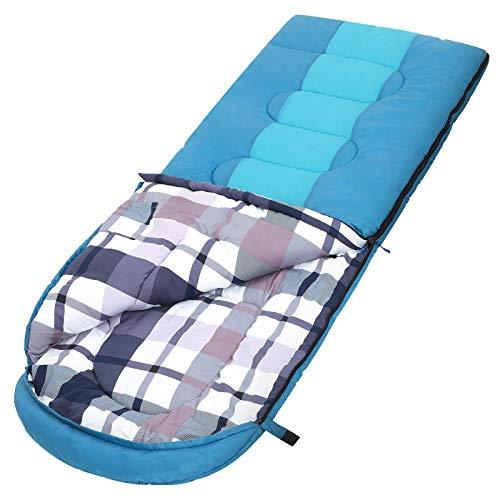 SONGMICS Schlafsack mit Kompressionsbeutel, breiter Deckenschlafsack, Komforttemperatur...
