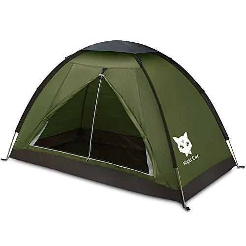 Night Cat Ruckzuck Zelt 1 Personen Mann Wasserdicht Zelt Leicht Camping Atmungsaktiv...