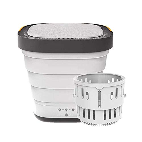 Tragbare Waschmaschine Mini Trockner, Mobile Faltwaschmaschine Camping Trockner Compact...