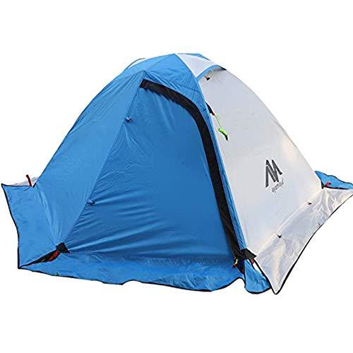 Zelt 2 Personen Trekkingzelt Wasserdicht, Doppelwandig 2 Mann Backpacking Zelt Ultraleicht...