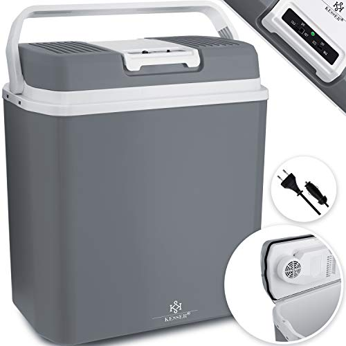 KESSER® 24 Liter Kühlbox   KÜHLT und WÄRMT   Thermo-Elektrische Kühlbox 12 Volt und...