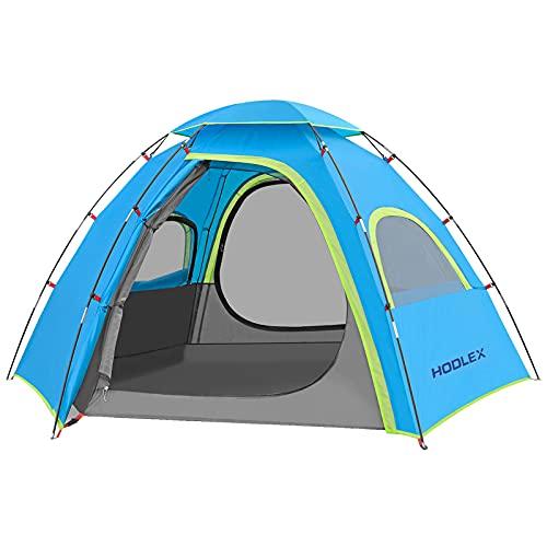 HODLEX Outdoor Camping Zelt für 3-4 Personen,mit vorzelt Zelte Wasserdicht...
